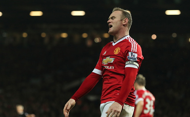 Wayne Rooney In Manchester United