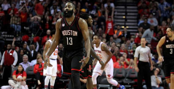 James Harden Mencetak Triple Double Ke-10 Di NBA 2016-2017